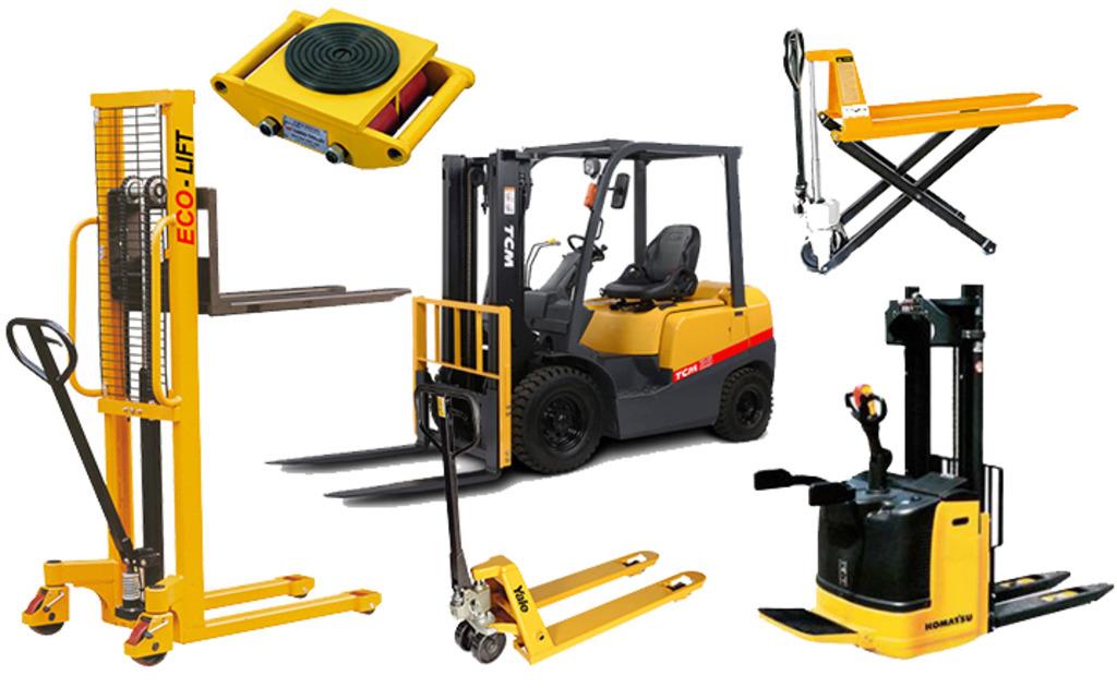 Виды грузоподъёмного оборудования для склада