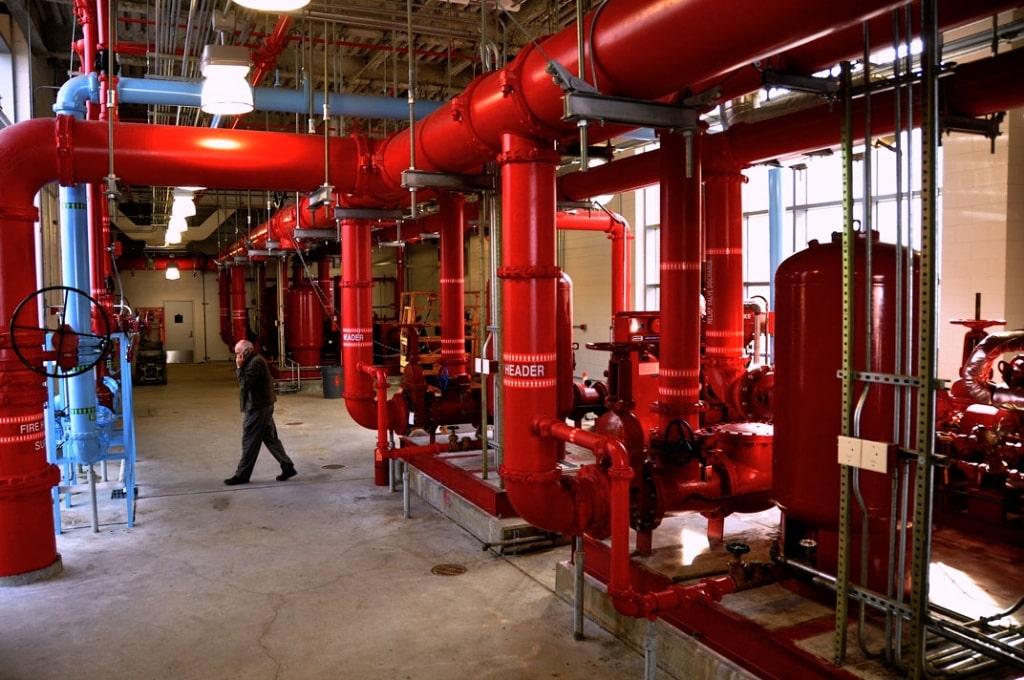 Пожаротушения как неотъемлемая часть производственного процесса