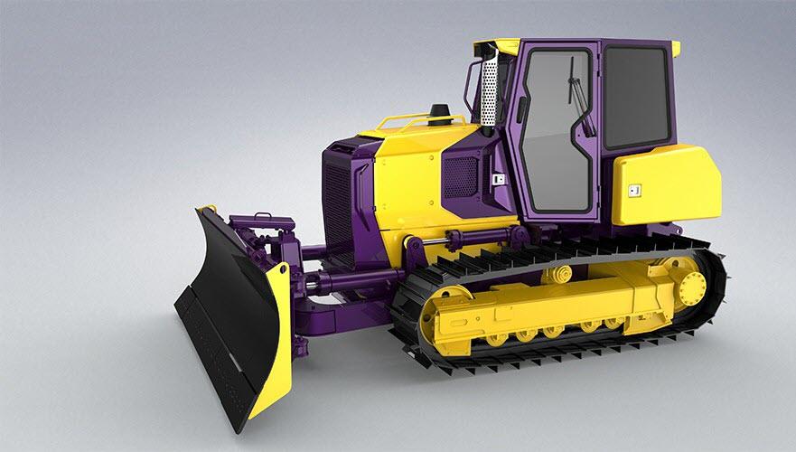 Бульдозеры Четра – модельный ряд и применение