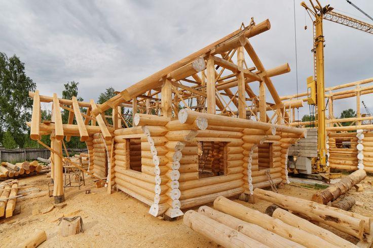 Дома из дерева - идеальная среда проживания