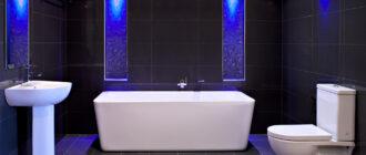 Как выбрать светильники для ванны влагозащищенные: виды и описание