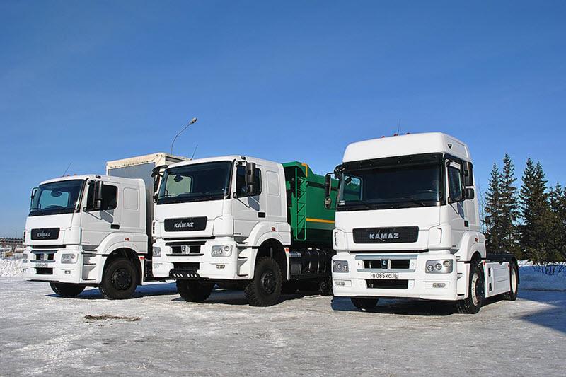 Автомобильный ряд машин КАМАЗ достаточно многопрофилен.