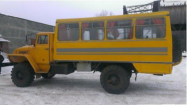 Вахтовка Урал-43206