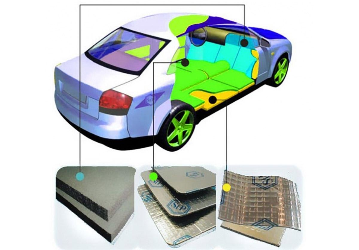Особенности процедуры шумоизоляции авто