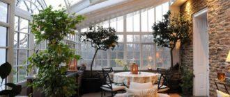 Зимний сад: виды, классификация по площади и особенности обустройства