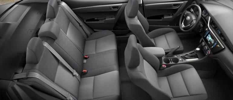 Комплектация автомобиля Тойота