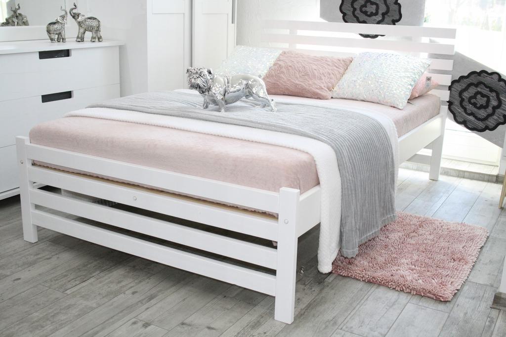Все преимущества кроватей из белого дерева