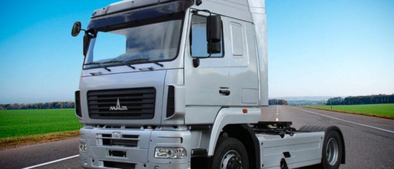 Седельные тягачи МАЗа короли региональных перевозок