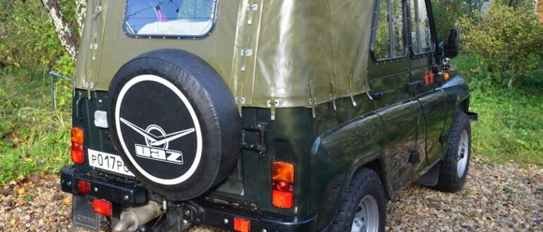 Тент на УАЗ, как способ создания многофункционального автомобиля