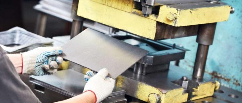 Особенности штамповки металла