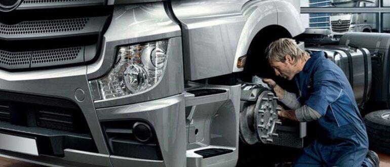 Ремонт грузовиков: на что обратить внимание