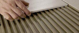 Как выбрать клей дли монтажа плитки?