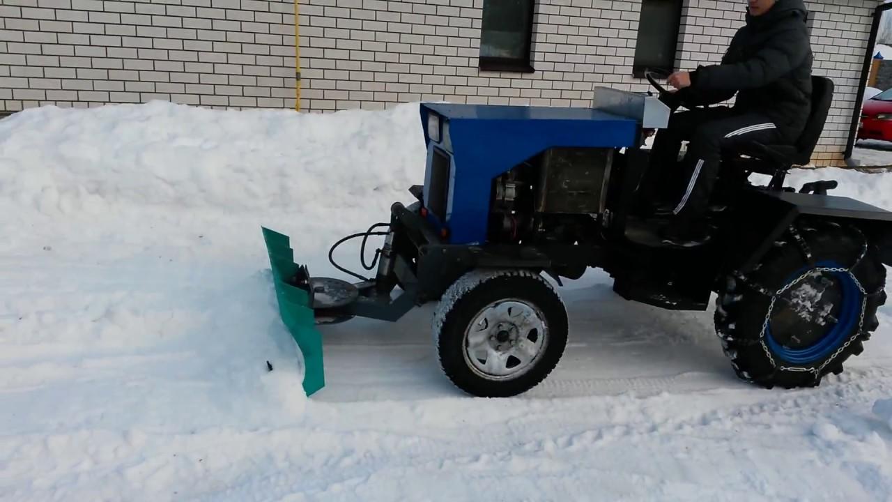 Эффективны ли минитракторы для уборки снега?